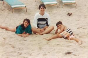 Deborah Schwartz and children